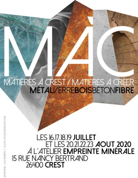 MAC Matière à créer Matière à Crest