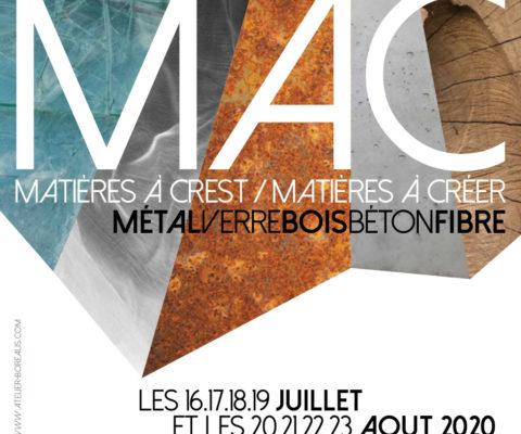 affiche exposition MAC 2020 à CREST (26400)