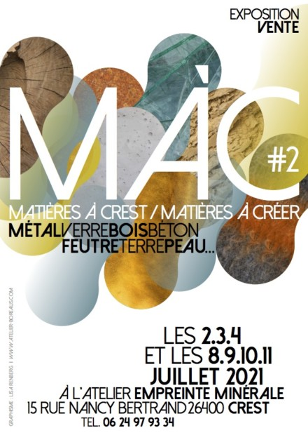 MAC #2 matière à créer